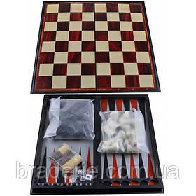 Игра магнитная Нарды, Шахматы, Шашки 3 в 1 47710