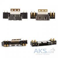 (Коннектор) Aksline Разъем зарядки Samsung A100 / A200 / N500 / N600 / N620 / R200 / R210