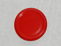 Крышка закаточная твист-офф размер 66 мм красная