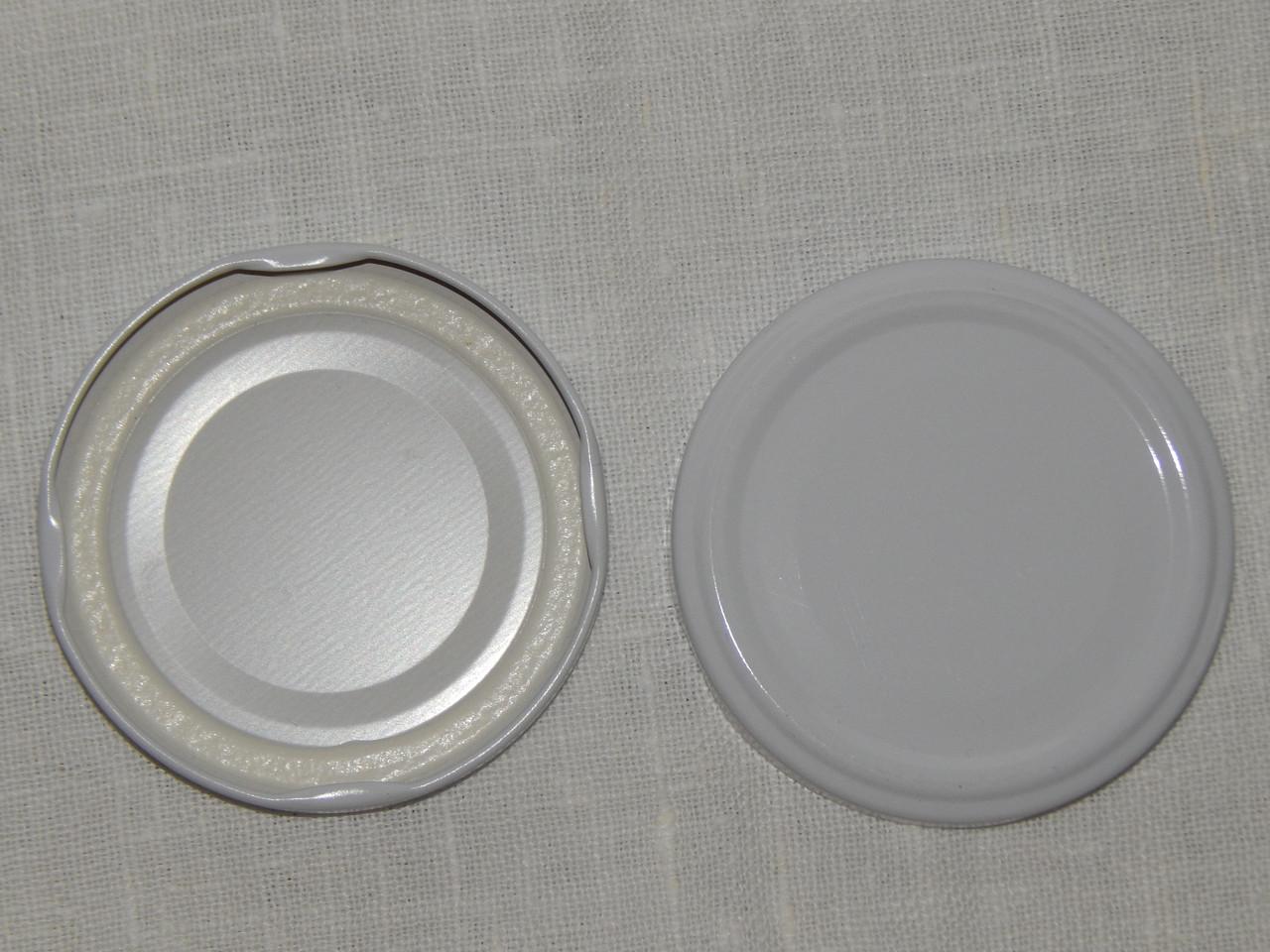 Крышка закаточная твист-офф размер 66 мм белая