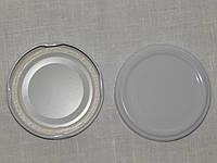 Крышка закаточная твист-офф размер 66 мм белая, фото 1