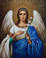 """Набор алмазной вышивки (мозаики) икона """"Ангел хранитель"""""""
