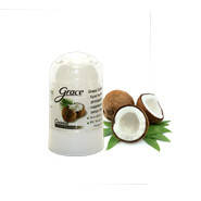 Натуральный дезодорант кристалл с экстрактом кокоса. Таиланд 70грамм