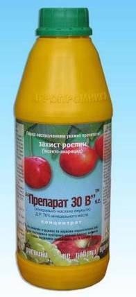 Инсектицид Препарат 30В 900мл — для ранне-весенней и летней обработки сада от вредителей, фото 2