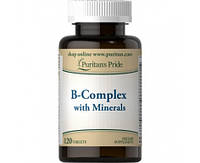 Puritan's Pride B-Complex with Minerals 120 tab