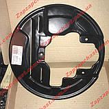 Кожух грязезащитный переднего тормоза правый Заз 1102 1103 таврия славута АвтоЗАЗ, фото 2