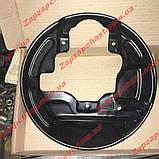 Кожух грязезащитный переднего тормоза правый Заз 1102 1103 таврия славута АвтоЗАЗ, фото 3
