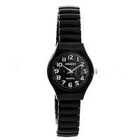 Часы наручные 3808-14 Круг черн.+бел жен.