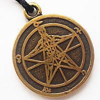 Пентаграмма АГРИППЫ - щит, охраняющий от суеверий, плохих предсказаний и проклятий.