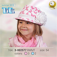 Шляпа для девочки TuTu арт. 3-002577
