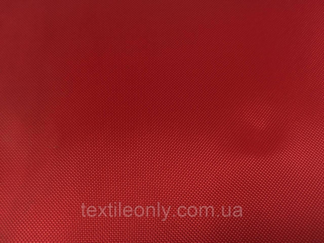 Тканина Сумочная 420 Д колір червоний