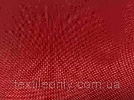 Тканина Сумочная 420 Д колір червоний, фото 2