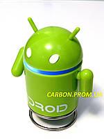 Портативная колонка с MP3 и FM радио  FM/USB робот Android