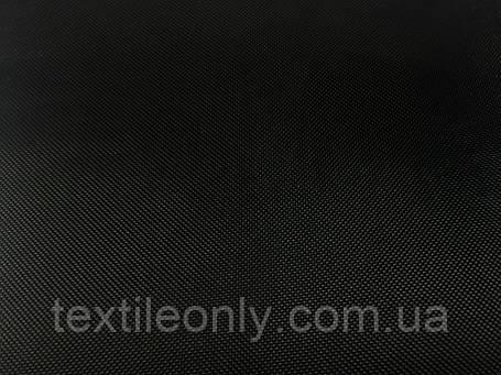 Тканина Сумочная 420 Д колір чорний, фото 2