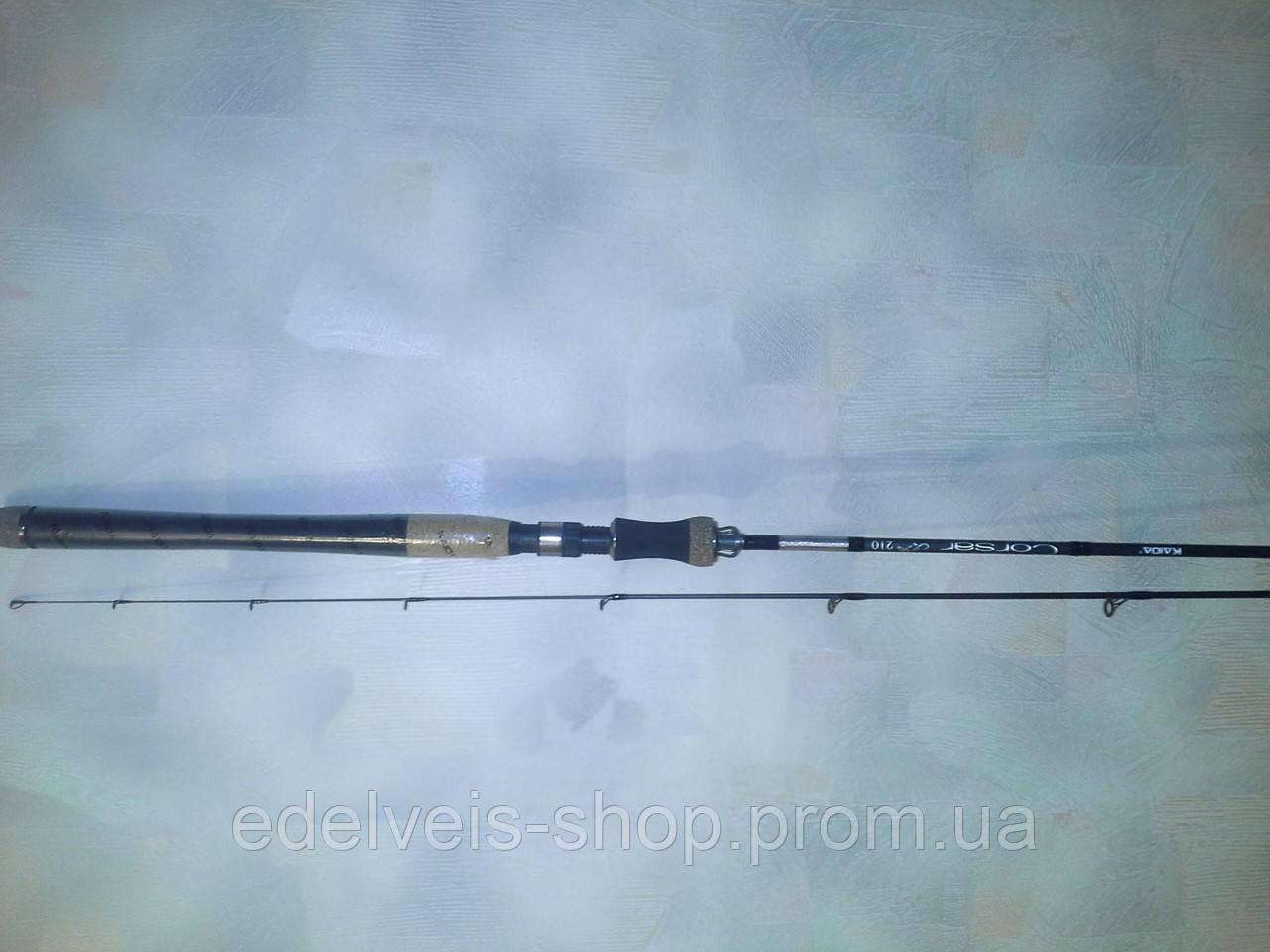 Спиннинг  ультралайт KAIDA(weida) CORSAR 2-8 гр  2.1м Carbon IM8