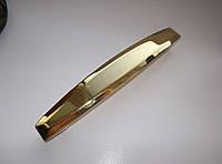 Ручка мебельная UN 53-128мм золото, фото 1