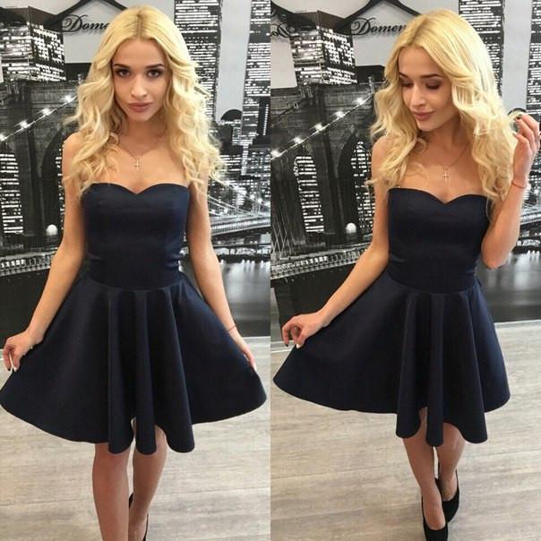 красивое платье черное фото