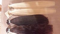 Волосы славянские на кератиновых капсулах.