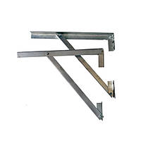 Кронштейны для дымохода из нержавеющей стали, пара (500 мм)