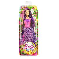 Кукла Барби Принцесса с длинными волосами (фиолетовые волосы) Barbie Mattel