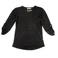 Блузка детская дляд евочек 110,116,122р.р черный Турция оптом.