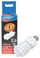 Лампа для террариума Sunlight Pro Compact 2.0 60x152мм 23W Trixie 76033