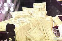 Комплект постельного белья 200х220  жаккард GoldenTex GV-259