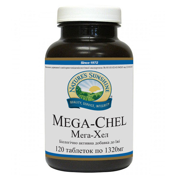 Витаминно минеральный комплекс Мега-Хел 120т.
