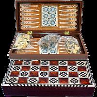 Игровой набор 3 в 1 Нарды, Шахматы, Шашки 5009A
