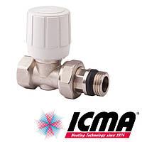 Icma 975 термостатический вентиль радиаторный 3/4*28х1,5 прямой