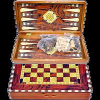 Игровой набор 3 в 1 Нарды, Шахматы, Шашки 5009C