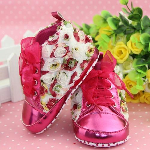 Детские ботинки-пинетки.Туфли для девочки.Пинетки.
