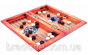 Ігровий набір 3 в 1 Нарди, Шахи, Шашки XLY-760