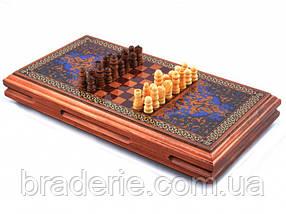 Ігровий набір 3 в 1 Нарди, Шахи, Шашки XLY-730