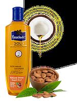 Кокосовое масло Parachute Gold  для блеска волос с экстрактом миндаля