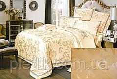 Комплект постельного белья 200х220  жаккард GoldenTex GV-260