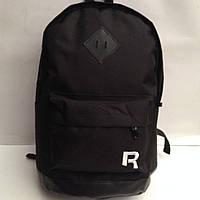 Рюкзак вышитые R\\полиэстер оксфордские ткани\\нижняя искусственная кожа\\черный   оптом