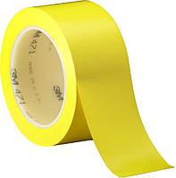 ЗМ™ 471 - Лента для разметки полов и сигнальной маркировки, 51х0,13 мм, желтый, рулон 33 м