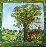 """Салфетки для декупажа """"В лесу"""" зеленый 33*33 см №191, фото 2"""