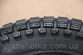 Шины на скутер 2.50-16 шестислойная +камера, шип, фото 2