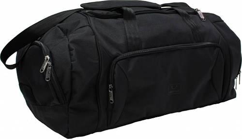 Удобная дорожная мужская сумка Space 81 л Bagland 90566 черный