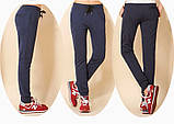 Спортивные брюки женские трикотажные. Графит, фото 3