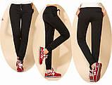 Спортивные брюки женские трикотажные. Графит, фото 4