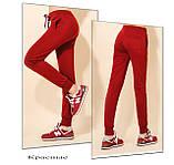 Спортивные брюки женские трикотажные. Графит, фото 5