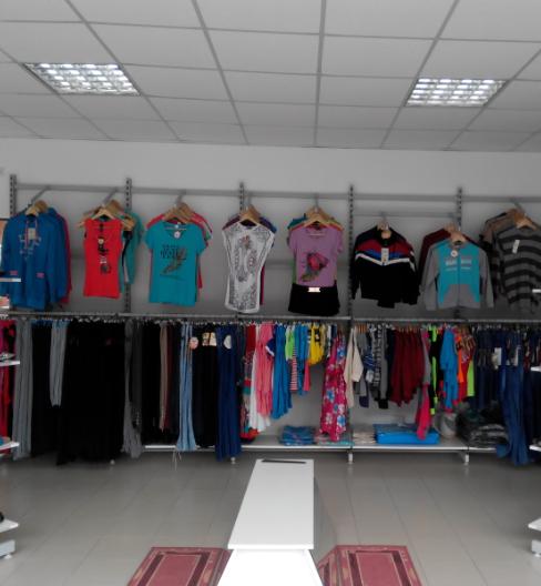 Стойки для одежды пристенные