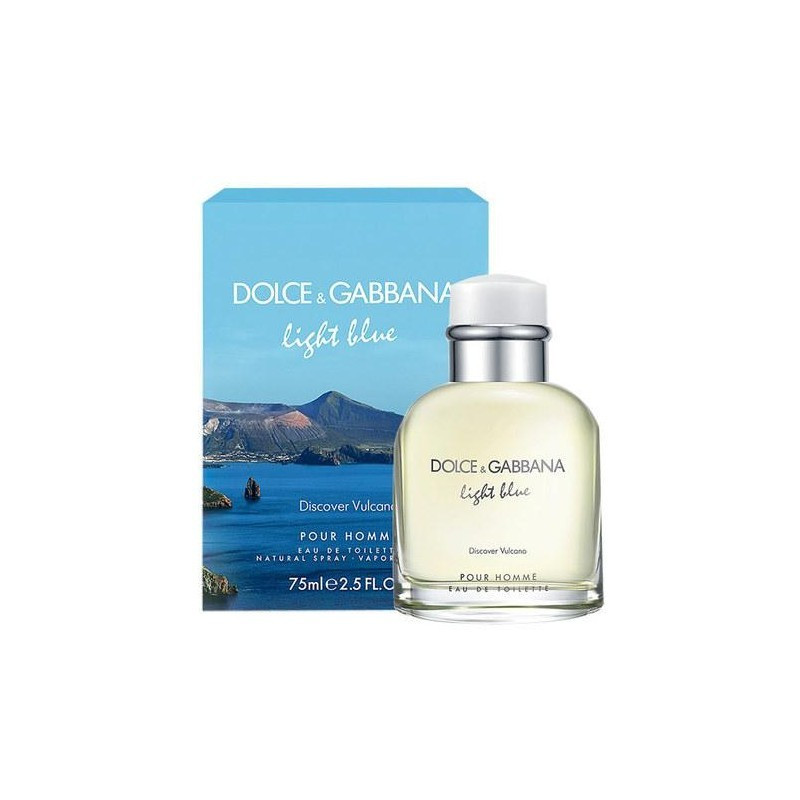 Мужская туалетная вода Dolce & Gabbana Light Blue Discover Vulcano (Лайт Блю Дискавер Вулкано) 75 мл