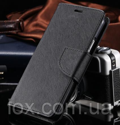 Чехол-книжечка черная на магните для Samsung Galaxy S3/S3 duos