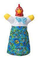"Кукла-рукавичка ""КУРОЧКА"" (пластизоль, ткань)"