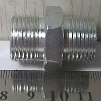 Штуцер соединительный S24хS24 (S22) (М20x1,5-М20x1,5) <ДК>