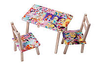 "Столик + 2 стульчика ""ВИНКС"""